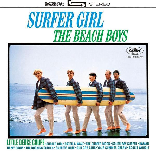 Tapa o Portada del disco Surfer Girl  de  The Beach Boys