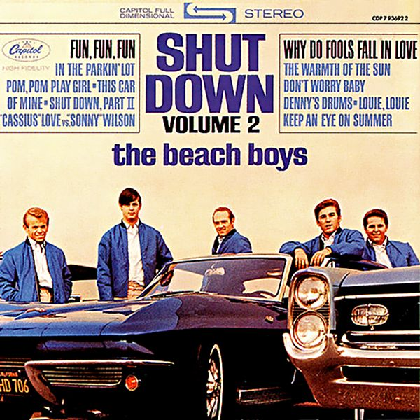 Tapa o Portada del disco Shut Down, Volume 2  de  The Beach Boys
